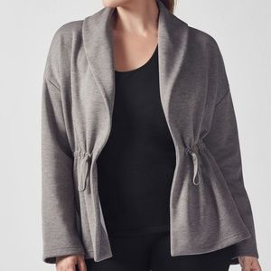 Fabletics | Sage Coat in Sandstone XL